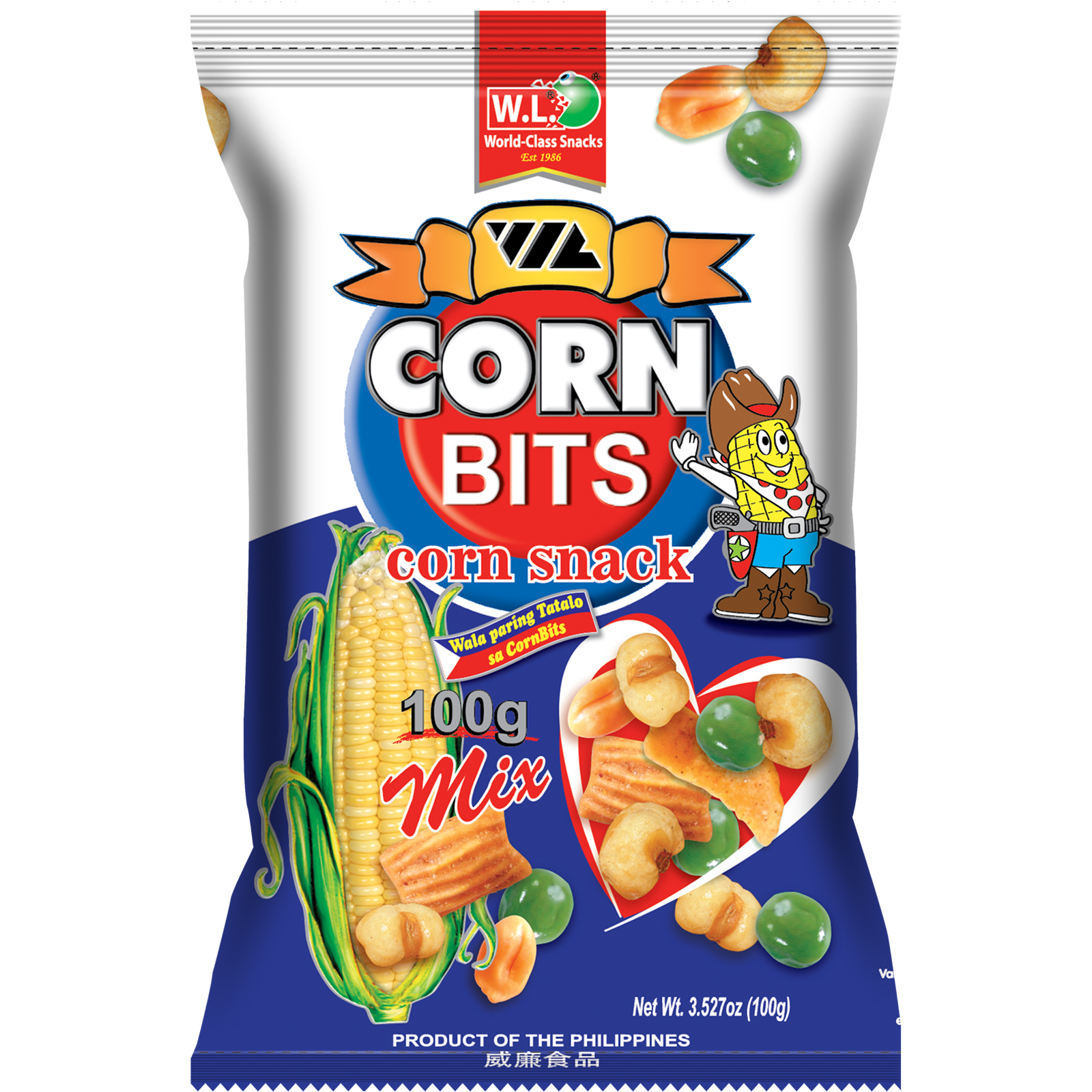 Corn Bits Corn Snack Mix 100g