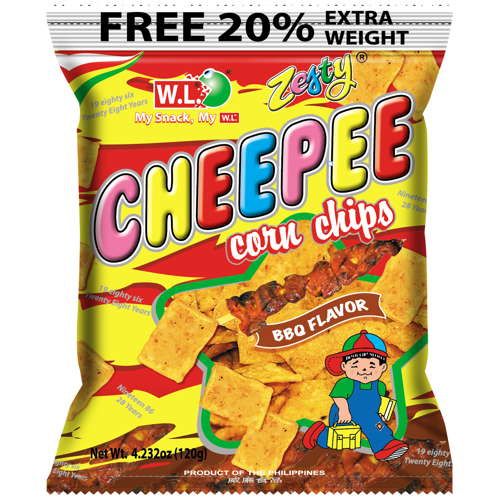 Cheepee Corn Chips 120g