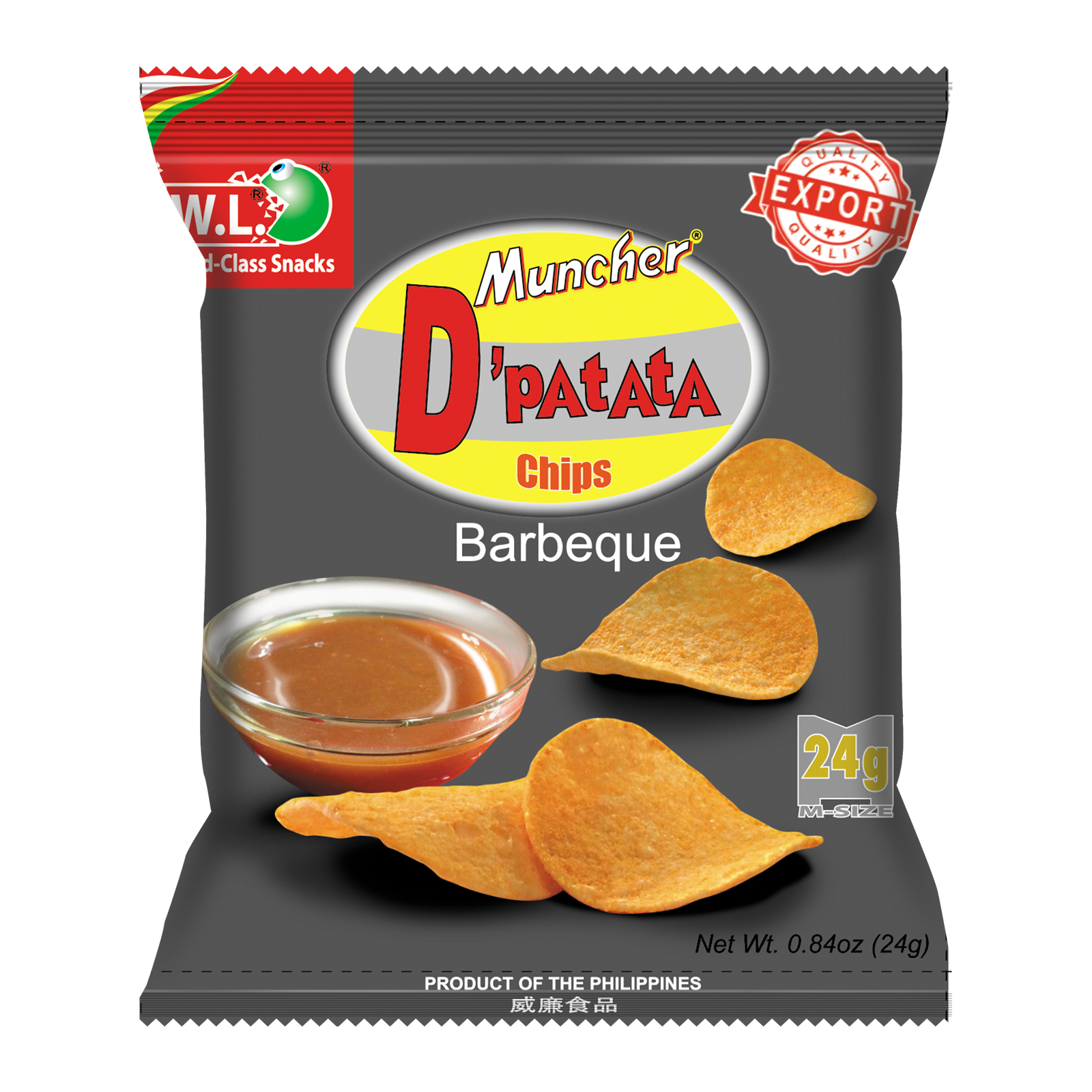 D'Patata Chips Barbeque Flavor