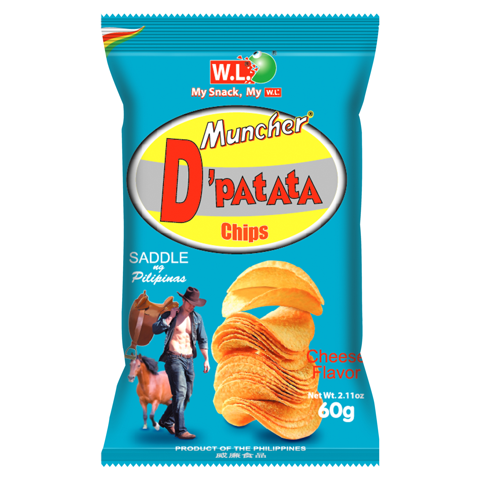 D'Patata Chips Cheese Flavor