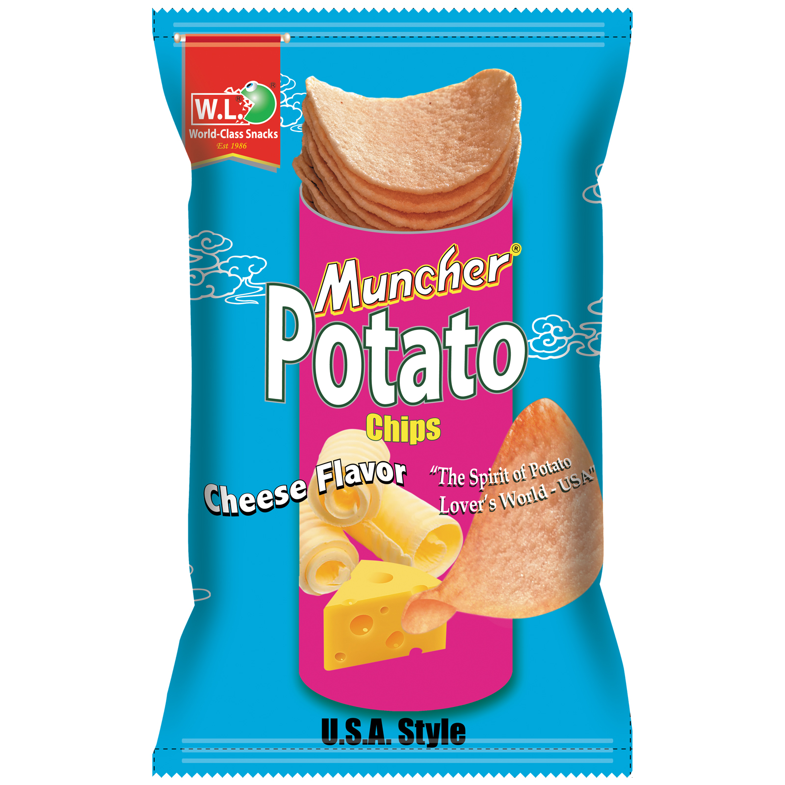 Muncher Potato Cheese Flavor 100g