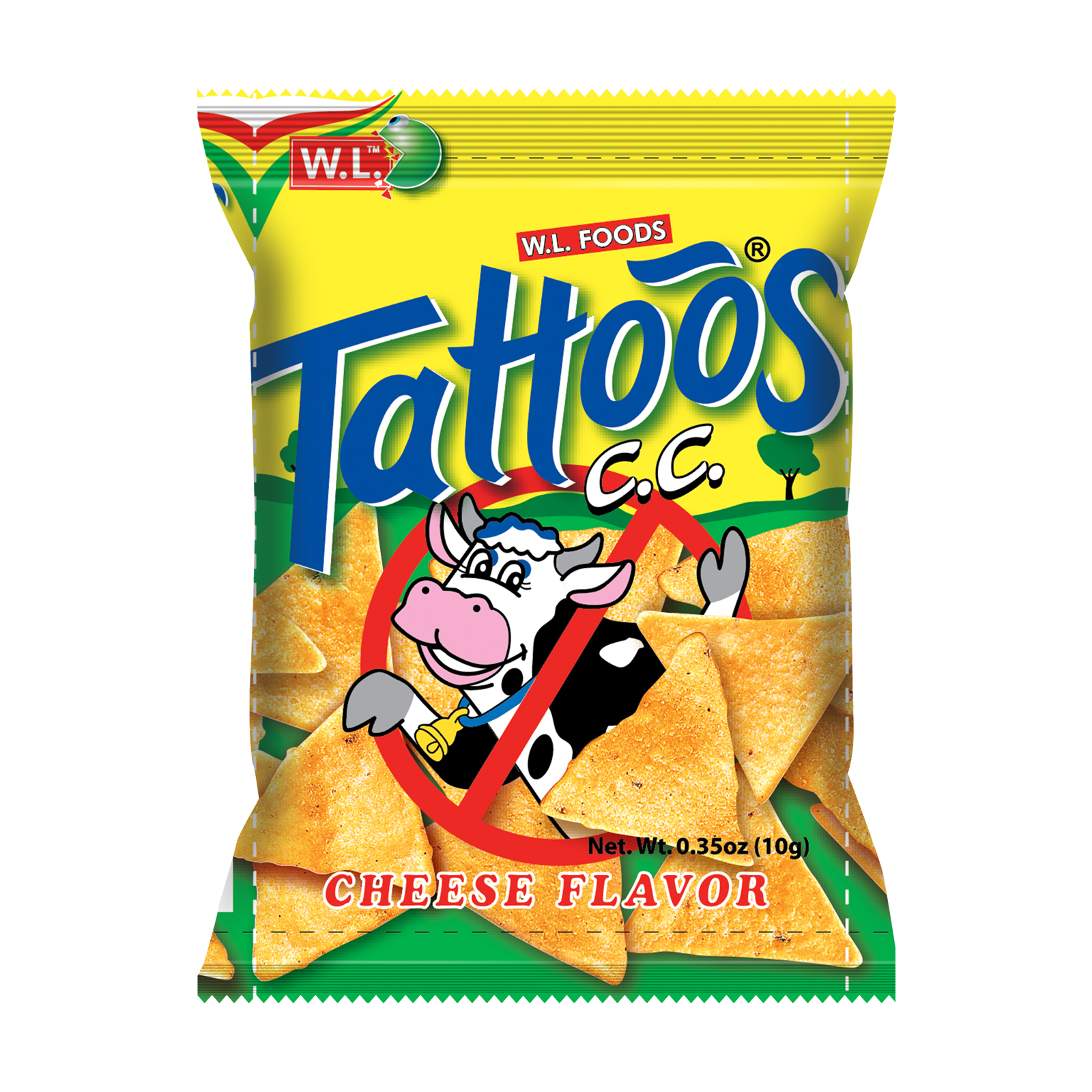 Tattoos Corn Chips 10g